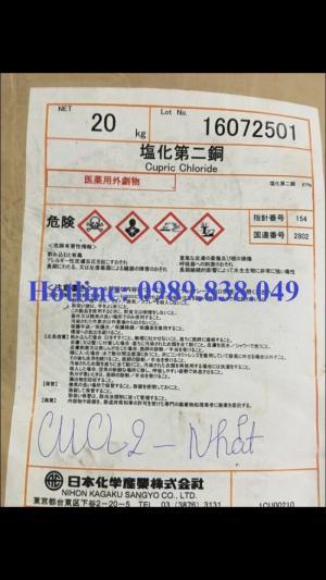 CuCl2 - Đồng clorua - Copper chloride Hàng Nhật