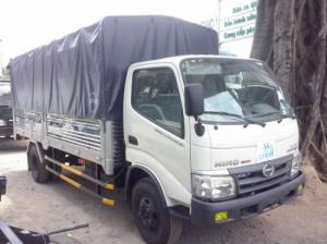 Có bán trả góp xe tải Hino WU352L-NKMRJD3 4.5 tấn, tổng tải 7.5, giao toàn Quốc