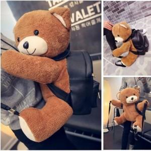 Túi xách balo gấu moschino size lớn đựng vừa ipad