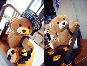 Túi xách balo gấu moschino dễ thương cho các bạn gái - MSN383116