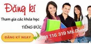 Đào tạo tiếng đức cơ bản, tiếng đức giao tiếp từ cơ bản đến nâng cao tại Hà Nội