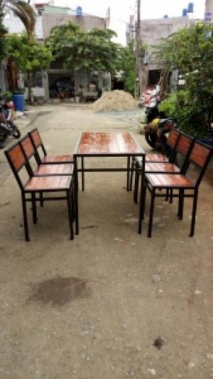 Bàn ghế gỗ nhà hàng quán ăn giá rẻ nhất