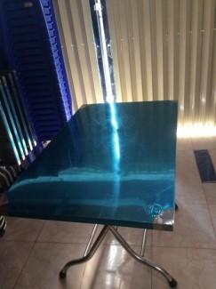 Thanh lý bàn inox - ghế inox quán cơm bún phở hoặc làm bàn ăn gia đình