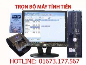 Cung cấp trọn bộ phần mềm, máy in, máy tính bán hàng cho quán ăn tại Châu thành Hậu Giang