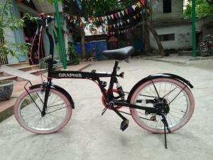 Xe đạp gấp xếp tại Hà Nội