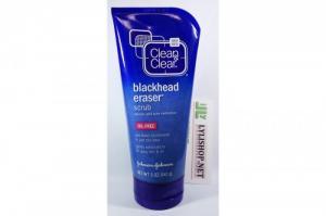 Sữa Rửa Mặt Trị Mụn Clean & Clear Blackhead Eraser tuýp 141g từ Mỹ