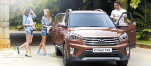 Hyundai CRETA 1.6 AT nhập khẩu nguyên chiếc 2016