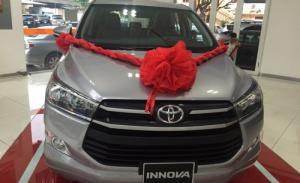 Khuyến Mãi Toyota Innova 2017 2.0G Số Tự Động, Mua Trả Góp chỉ cần 150tr là sở hữu ngay