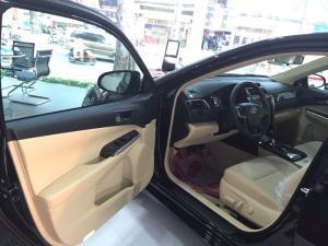 Ưu Đãi Lớn Toyota Camry 2.0E 2016 màu đen, Mua Trả Góp chỉ cần 360Tr