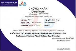 Hà Nội: Học Nghiệp vụ Bán và điều hành Tour