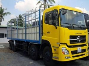 Khuyến mãi lớn khi mua xe tải DongFeng L315( 4 chân 4 giò) 2 cầu 2 dí 17.9 Tấn xe mới