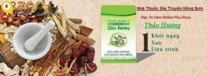 Đặc trị viêm nhiễm phụ khoa hương thảo