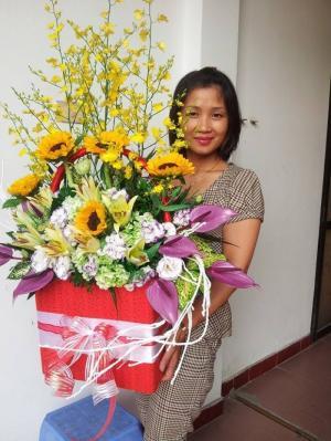 Mua hoa tặng sinh nhật ở thành phố Thanh Hóa, hoa tươi giá rẻ tại thành phố Thanh Hóa