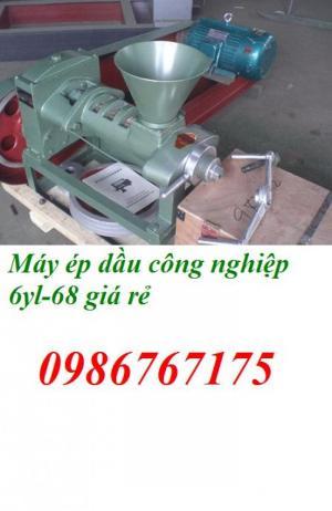 Máy ép dầu công nghiệp 6yl-68 giá rẻ nhất