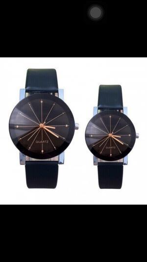 Đồng hồ dây da kiểu cho tình nhân