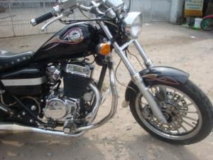 Moto Rebell 125 màu den,bstp ngay chủ