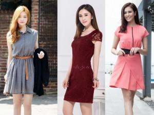 Nhận may đồng phục đầm nữ | Xưởng chuyên đồng phục đầm nữ, đầm nữ công sở đẹp