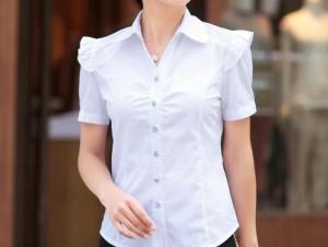 Nhận may đồng phục áo sơ mi nữ | Xưởng chuyên đồng phục áo sơ mi nữ, áo sơ mi nữ công sở đẹp