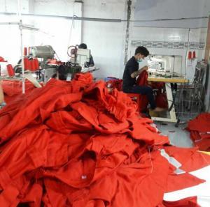 May gia công quần áo bảo hộ chống cháy, hàng chất lượng xuất khẩu