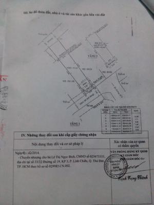 Nhà cần bán tại phường linh tây, quận thủ đức. Giá bán: 1,95 tỷ