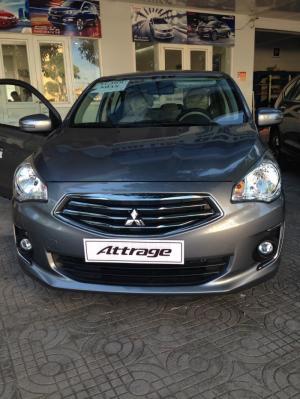 Mitsubishi Attrage CVT 2016 nhập khẩu nguyên chiếc khuyến mãi lớn nhất