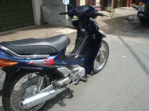 Honda Future I màu xanh,zin chưa bung đầu