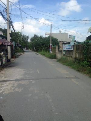 Cần bán lô đất mặt tiền đường Thạnh Xuân 43 DT: 4x17m(68m2) SHR