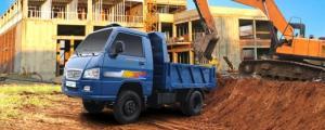 Xe Ben Trường Hải dưới 2.5 tấn chạy trong Thành Phố