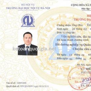Chiêu sinh lớp  quản lý nhà nước ngạch chuyên viên , chuyên viên chính tại Hà Nội