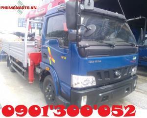 Xe tải Hyundai Veam VT490 – 5 tấn – Gắn cẩu Unic V340 – 3 tấn – 4 khúc là dòng xe được nhập khẩu linh kiện CKD và lắp ráp tại Nhà Máy Veam Motor và được Cty Cp TM DV Phú Mẫn cải tạo thiết kế lắp đặt cẩu theo nhu cầu người tiêu dùng đang ưa chuộng, với nhu cầu mong muốn đưa thương hiệu dòng xe chuyên dùng ô tô tải có cần cẩu vào thị trường xe tải cẩu để phục vụ đúng nhu cầu cần thiết thời khó khăn về thiết kế và cải tạo như hiện nay.