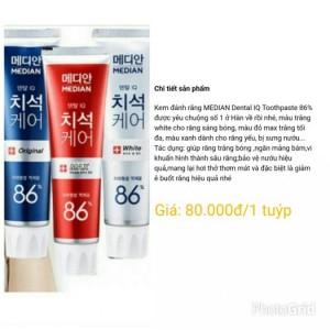 Kem đánh răng Hàn Quốc