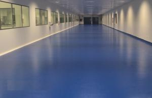 Nhà máy sơn sàn epoxy - Sơn sàn APT