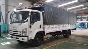 Xe tải isuzu 8t2 thùng dài 7m7