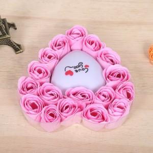 Hoa Hồng Sáp Trái Tim Phát Sáng - Món quà tặng  độc đáo dành cho bạn gái - MSN383129