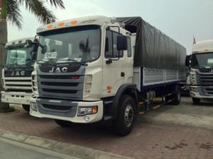 Xe tải Jac 8,7 tấn, thùng dài 7,7m, giá rẻ nhất toàn miền Nam, giao xe ngay, trả góp lãi suất thấp.