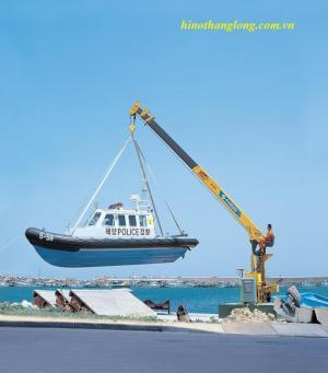 Cẩu tự hành soosan 6 tấn | SCS - 735