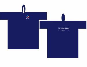 Áo mưa nhựa Rạng Đông in logo công ty hàng...