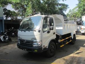 Đại lý cung cấp xe ben hino 5 tấn giá gốc tại nhà máy