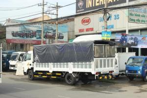Xe tải veam vt750 tải trọng 7t5 THÙNG DÀI 6M2 máy Hyundai Hàn Quốc mới nhất