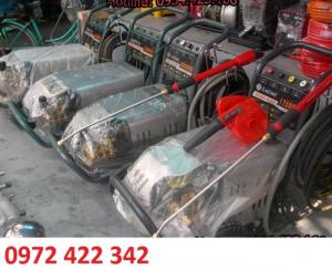 MÁY RỬA XE CAO ÁP 7.5KW áp lực tối đa 210 Bar, may rua xe chạy xăng