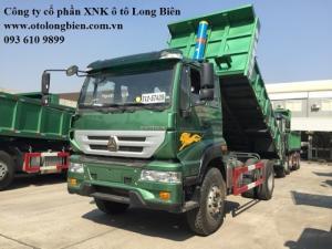 Xe ben 8 tấn Howo tại Long Biên, Hà Nội 2016, 2017