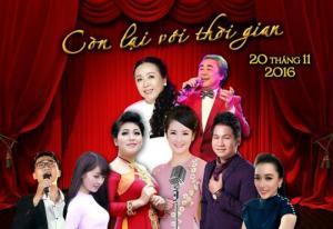 """Bán vé đêm nhạc """"Còn lại với thời gian"""" 20/11 tại Hà Nội"""