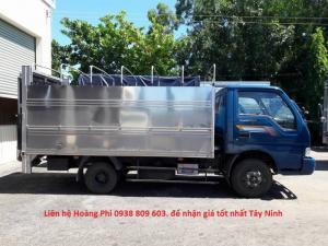 Bán xe bửng nâng KIA K165 1T850, giá tốt nhất Tây Ninh. THACO Tây Ninh