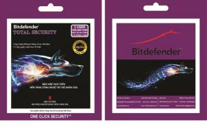 Phần Mềm Diệt Virus Bitdefender Total Security 1pc 2016