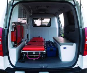 + Bình oxy + Đèn trần khoang bệnh nhân + Tủ đựng dụng cụ y tế