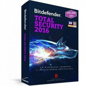 Phần Mềm Diệt Virus Bitdefender Total Security 5pc