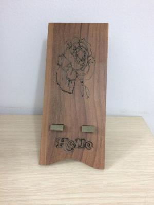 Giá đỡ điện thoại, ipad gỗ hình dễ thương