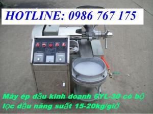 Máy ép dầu công nghiệp 6yl-30, máy ép giá rẻ
