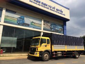 Xe tải 9,3 tấn Thaco Auman C160 tải trọng 9 tấn thùng dài 7.4m. Xe tải 9,3 tấn động cơ cumins của mỹ