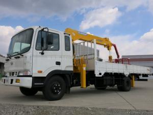 Thông tin bán xe tải gắn cẩu Soosan SCS334 4 đốt, 3.2 tấn Hyundai HD120